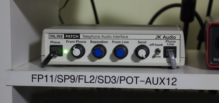 Phone Patch for directed voice over sessions
