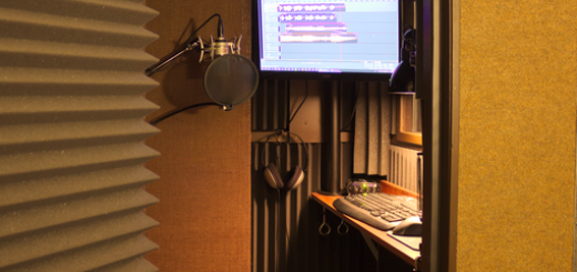 Custom Voice Over Booth
